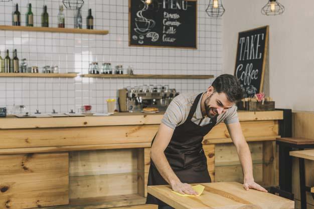 Cleaning Service Restoran